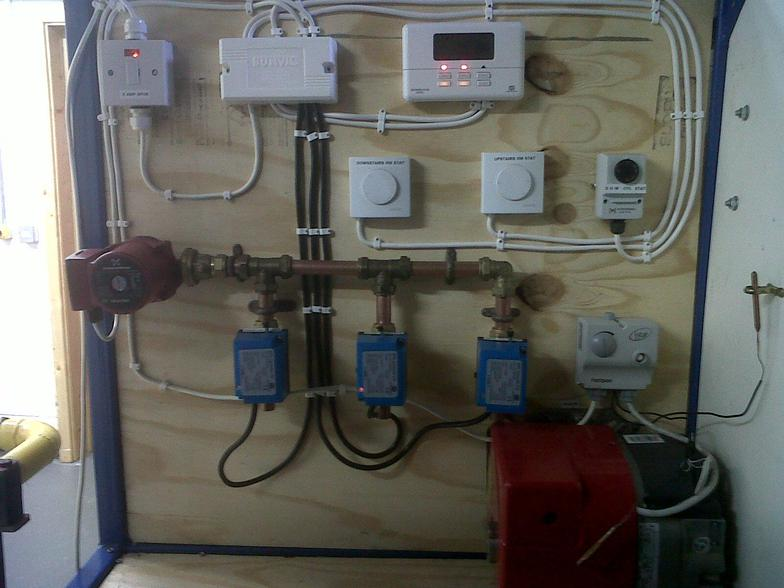 Heating System Boiler Furnace Water Heater Air Conditioning System ...